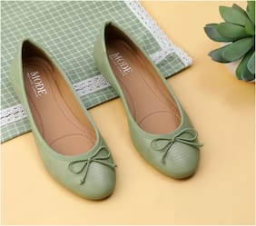 Mode by Red Tape Women Green Bellies
