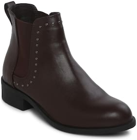 Mode by Red Tape Women Brown Boot