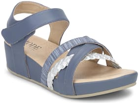 Mode by Red Tape Women Blue Wedges