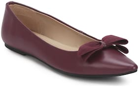 Mode by Red Tape Women Purple Bellies