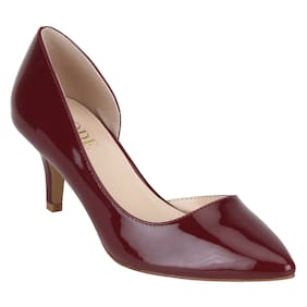 7922a567ce8 Mode By Red Tape Women Burgundy Heels