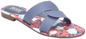 Mode by Red Tape Women Blue Sandals