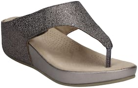 Mode by Red Tape Women Grey Wedges -