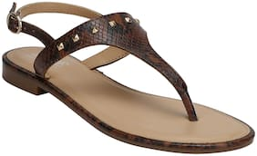 Mode by Red Tape Women Brown Sandals