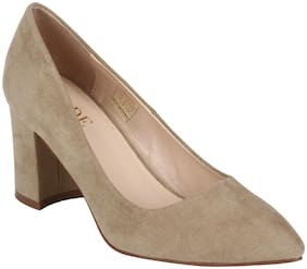 Mode By Red Tape Women Nude Heels