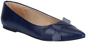Mode by Red Tape Women Navy Blue Bellies