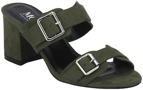 Mode by Red Tape Women Green Sandals