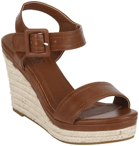 Mode By Red Tape Women Brown Wedges