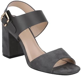 Mode by Red Tape Women Grey Heeled Gladiators