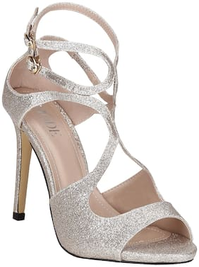 Mode by Red Tape Women Gold Sandals