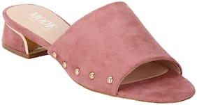Mode By Red Tape Women Pink Heels-MRL0115A PINK-6