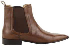 Moladz Men Brown Chelsea Boots - CHELSEA BOOTS - MFSBT0081TAN06