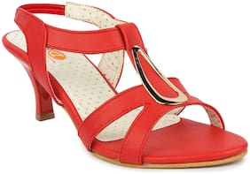 MONAQI Women Red Sandals