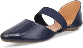 MONAQI Women Navy Blue Sandals