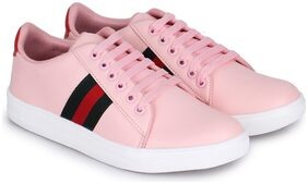 Moonwalk Women Pink Sneakers