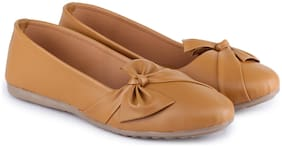 Moonwalk Women Tan Bellies