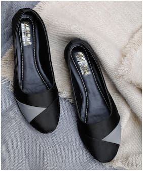 Moonwalk Women Black Wedges