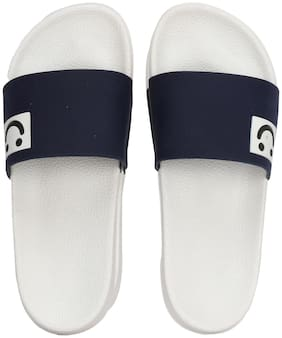 MOU CLOSETS Men Navy blue Outdoor slippers
