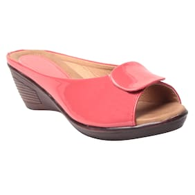 MSC Women Faux leather Slip on - Eu 40 , Peach