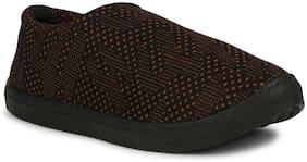 Namchee Women Brown Slip-On Shoes