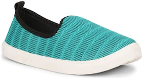 Namchee Women Green Slip-On Shoes