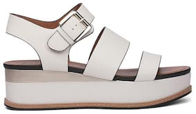 Naturalizer Women White Sandals