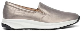 Naturalizer Women Gold Slip-On Shoes