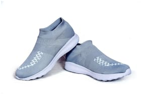 Nature Step Women Running Shoes ( Grey )