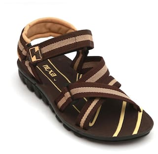 d935485f51 Buy Nexa Men Brown Sandals   Floaters Online at Low Prices in India ...