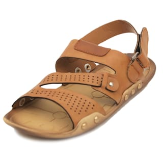 ffb5774034b5 Buy Nexa Designer Light Tan Floater Sandals Online at Low Prices in ...