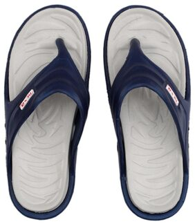 Nexa  Men's Grey/Navy Blue Slippers