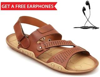 Nexa Men Tan Sandals