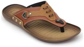Nexa Men Tan Outdoor slippers