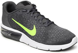 d381db1879a5 Nike Men Air Max Sequent 2 Black Running Shoes for Men - Buy Nike ...
