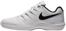 NIKE AIR Zoom Prestige Tennis Shoes for Men (White)