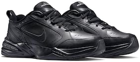 Nike Black Mesh Low Ankle Casual Running Shoes For Men(Flex Fury 2)