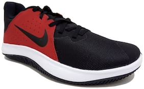 Nike Black Mesh Low Ankle Casual Running Shoes For Men(RUNNING)