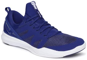 Nike Blue Mesh Low Ankle Casual Running Shoes For Men(Victory Elite)