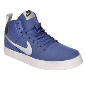 Nike Men Liteforce III Mid Blue Sneakers