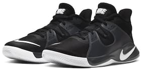 Nike Men NIKE FLY.BY MID Basketball Shoes ( Black )
