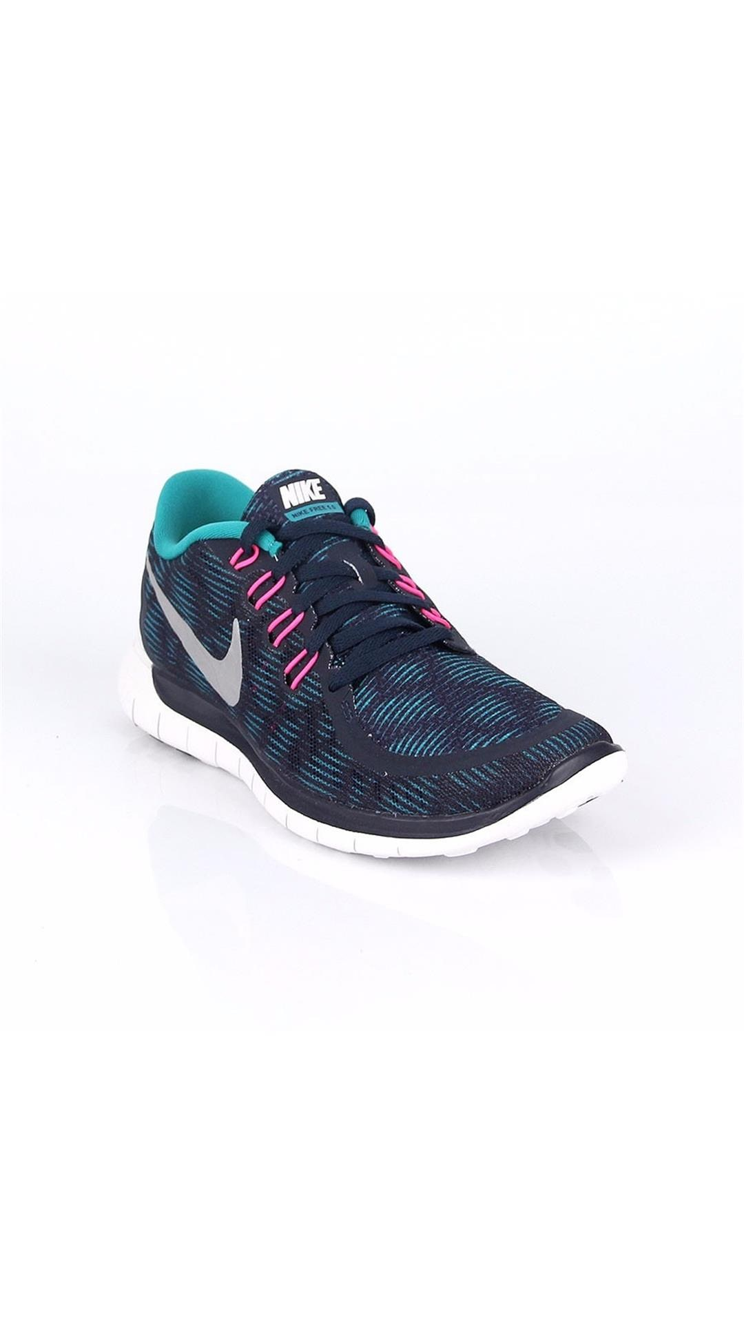 3edb47cf321c4 ... good nike womens free 5.0 print obsidian running shoes 56069 f5a76