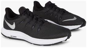 Nike Men Nike Quest Black Running Shoes