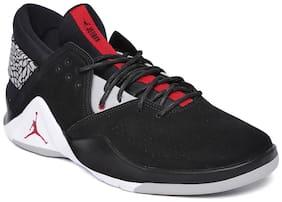 Nike Men JORDAN FLIGHT FRESH PREM Basketball Shoes ( Black )