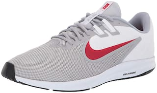 Nike Men Men's Downshifter 9 Wolf Running Shoes Running Shoes ( Multi-Color )