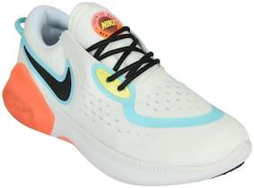 Nike Men NIKE JOYRIDE DUAL RUN FLYKNIT Running Shoes ( White )