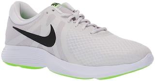 Nike Revolution 4 Running Shoes For Men(White )