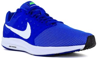 reputable site fb595 84579 Nike Men's Downshifter 7 Blue Running Shoes for Men - Buy ...