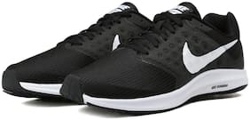 NIKE Men's Downshifter 7 Black/White Running Shoes (852459-002)