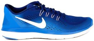 new arrivals 6f8f8 54119 Nike Men's Flex RN 2017 Blue Running Shoes for Men - Buy ...