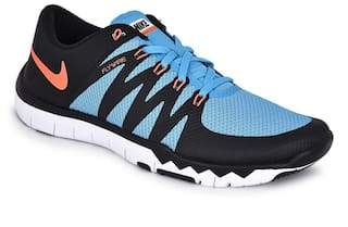 hot sale online a40d4 bf72e Nike Men's Free Trainer 5.0 V6 Black Training Shoes for Men ...